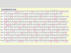 Calendario 2018 con santi 2018 Calendar printable for