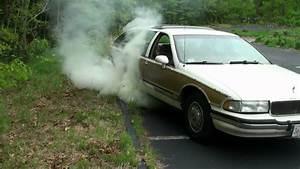 Buick Roadmaster Wagon Burnout