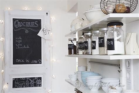 blackboard in kitchen feature friday songbird southern hospitality