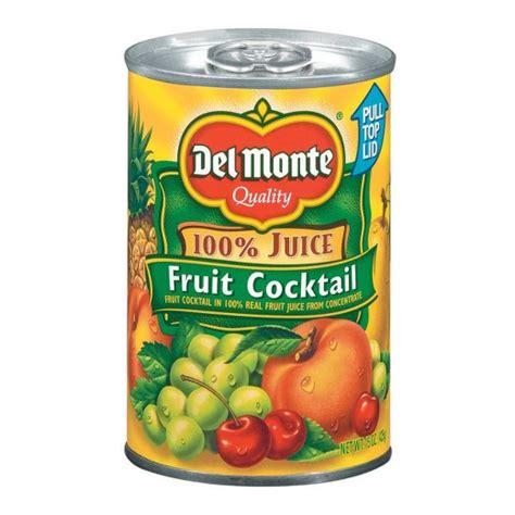 Del Monte Fruit Cocktail in 100% Real Juice - 15 oz : Target