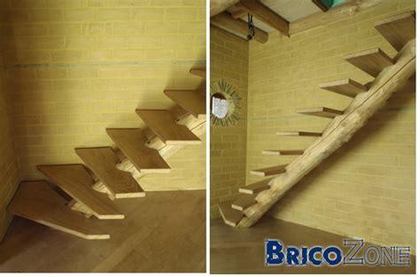 escalier qui grince que faire escalier limon central en tronc d arbre