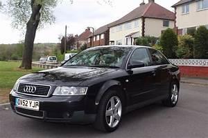 Audi A4 2003 : audi a4 2 5 tdi 2003 black sport full leather interior in woodley manchester gumtree ~ Medecine-chirurgie-esthetiques.com Avis de Voitures