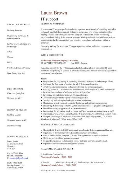 support cv sample helpdesk writing  good cv resume