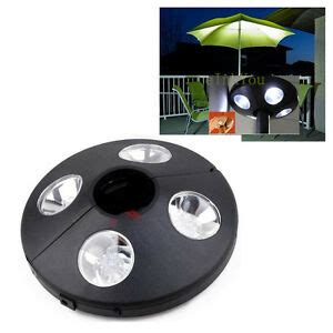 Battery Operated Umbrella Lights by Patio Umbrella Light 24 Led Lights 3xaaa Battery Operated