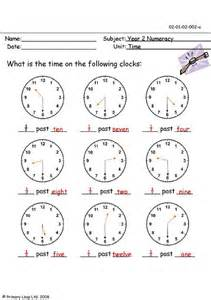 Digital Clock Worksheets Half Hour