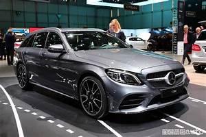 Mercedes Classe C Restylée 2018 : mercedes classe c 2018 berlina e wagon al salone di ginevra ~ Maxctalentgroup.com Avis de Voitures