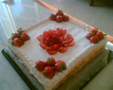 decoration d un fraisier fraisier photo
