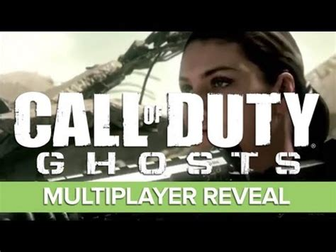 Call Of Duty Ghosts Multiplayer Gameplay Trailer Ft Eminem Song Survival Youtube