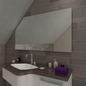 Spiegel Mit Schräge : arica badspiegel mit dachschr ge ohne beleuchtung online ~ Michelbontemps.com Haus und Dekorationen