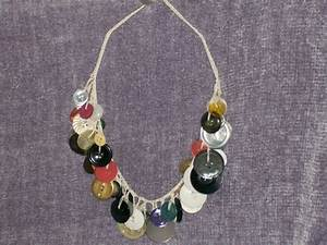 Crochet Instructions For A Button Necklace