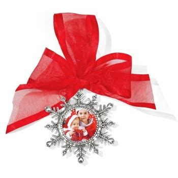 brighton alcazar flake ornament snowflake photo ornament ornaments