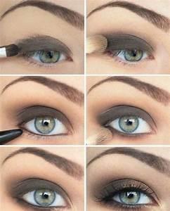 Maquillage Yeux Tuto : tuto maquillage selon la couleur et la forme des yeux ~ Nature-et-papiers.com Idées de Décoration