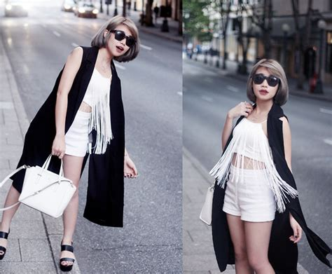 Trendy Black and White Outfits - Outfit Ideas HQ