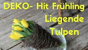 Deko Frühling 2018 : diy mit tulpen deko hit fr hling 2018 liegende tulpen youtube ~ Eleganceandgraceweddings.com Haus und Dekorationen