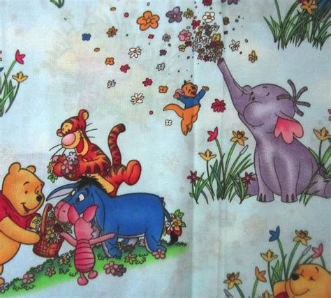 Winnie The Pooh Bear Tigger Piglet Eeyore Heffalump On