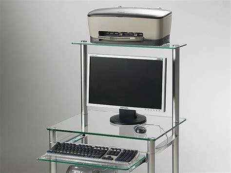 Scrivania Per Computer Compact by Scrivania Per Computer In Vetro Compact