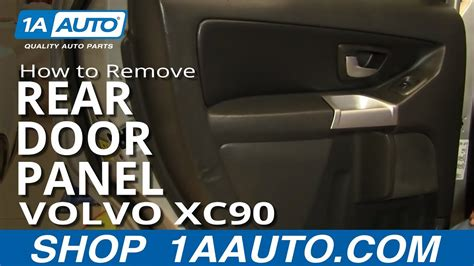 install replace rear door panel volvo xc aauto