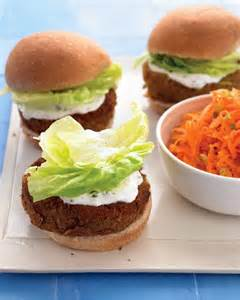 Veggie Burger Recipes with Carrots
