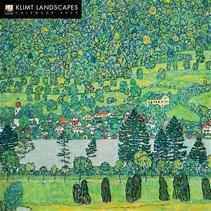 Month Calendars 2020 Gustav Klimt Landscapes Calendar 2020 At Calendar Club