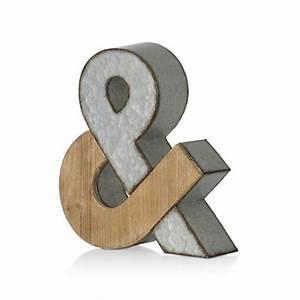 Lettre En Bois A Poser : lettre d co poser vintage en m tal sur cdc design ~ Teatrodelosmanantiales.com Idées de Décoration