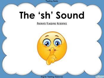 sh sound   teaching buddy teachers pay teachers
