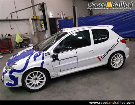 Peugeot 206 For Sale by Peugeot 206 A Rally Cars For Sale At Raced