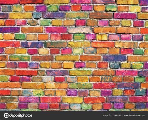 Free photo: Colored Brick Wall Wall Block Textured