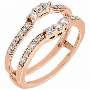 diamond enhancer solitaire wrap engagement ring jacket 10k With diamond wedding ring jackets