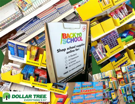 dollar tree makes back to school shopping affordable