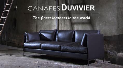 canapes duvivier high end leather furniture canapés duvivier