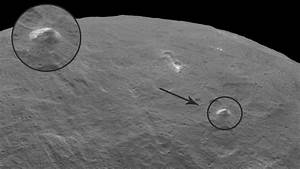 3-mile high 'pyramid peak' spotted on mysterious Ceres ...