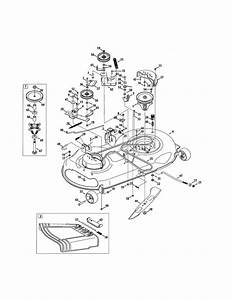 Craftsman Lt2000 Riding Mower Parts Diagram