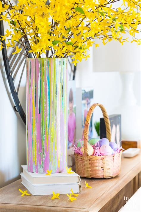 Painted Glass Vase For Springtime Decorating  In My Own Style. Dinner Ideas No Bread. Kitchen Lighting Ideas Low Ceilings. Kitchen Remodel Ideas Sinks. Wedding Ideas Magazine Twitter. Bedroom Ideas For College Students. Drawing Ideas Roses. Simple Backyard Ideas On A Budget. Landscape Ideas Ground Cover