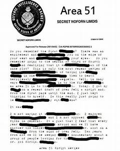 Top secret 39area 5139 documents released to the public for Area 51 classified documents released