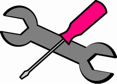 Tools Pink Clip Clipart Clker Vector Domain