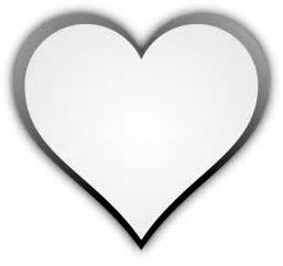 Pics Photos - Heart Black And White Png