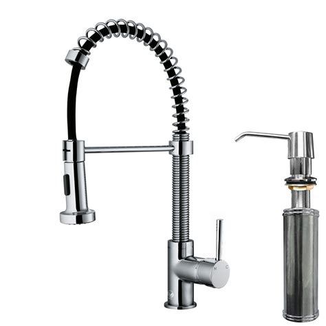 kitchen faucet with spray vigo edison single handle pull spray kitchen faucet