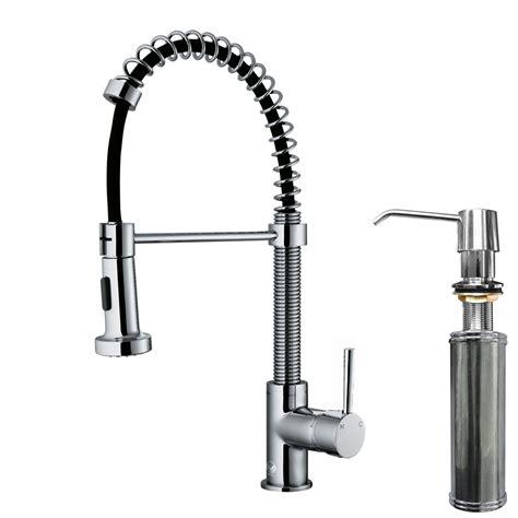 kitchen faucets sprayer vigo edison single handle pull spray kitchen faucet