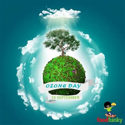 Ozone Layer Earth Protect Environment Pledge Protects