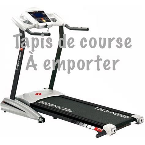 troc echange tapis techness run course et marche mp3 200