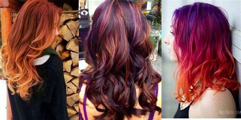 autumn hair color trendy hair colors for autumn the haircut web