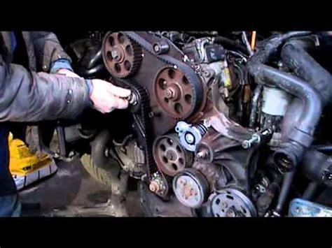 timing belt installation   vw passat  tdi youtube
