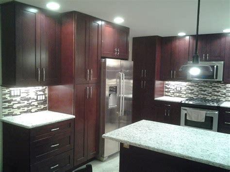mocha shaker kitchen cabinets buy mocha shaker rta ready to assemble kitchen cabinets 7570