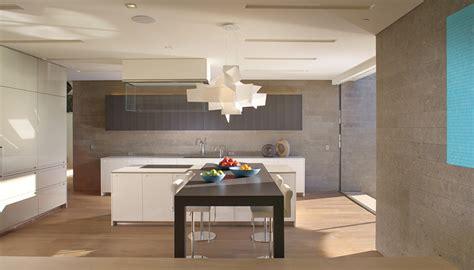 villa cuisine villa contemporaine cuisine