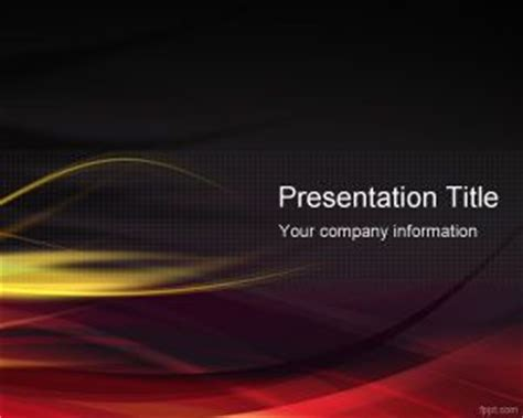 fire powerpoint template