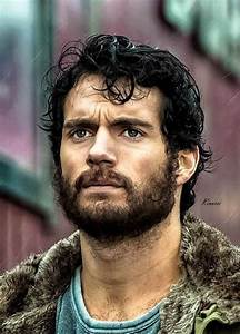 So handsome with a beard.. | Henry Cavill | Pinterest