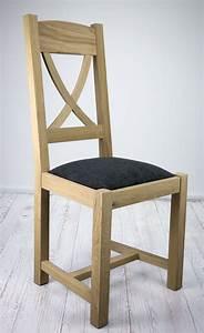 Chaise Chene Massif : chaise olivier en ch ne massif de style campagne assise tissu finition ch ne bross meuble en ~ Teatrodelosmanantiales.com Idées de Décoration