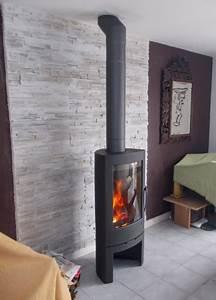 Habillage Mur Derriere Poele A Bois : pin by jan atwi on in 2019 poele a bois ~ Mglfilm.com Idées de Décoration