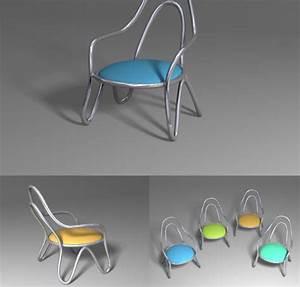 Petite Chaise En Plastique : mod le 3d pour petite chaise simplifi 3d model download free 3d models download ~ Teatrodelosmanantiales.com Idées de Décoration