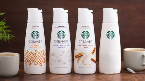 Starting in august, starbucks will be rolling out three different kinds of starbucks creamers that are inspired by the flavors of caramel macchiato, the white chocolate mocha, and the cinnamon. Mystery Coffee Creamers : starbucks coffee creamers
